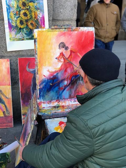 madrid painter